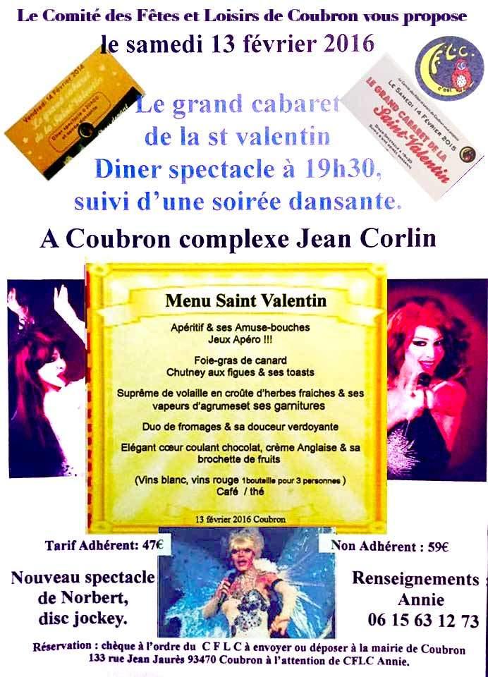 Traiteur pour st valentin à coubron (93)